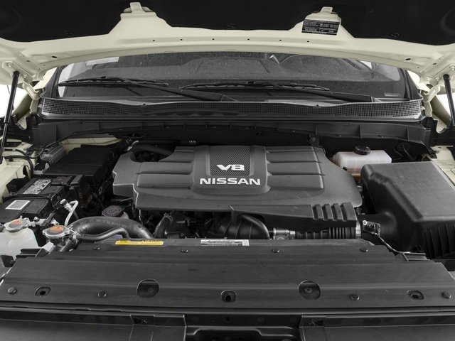 2017 Nissan Titan Prices and Values Crew Cab PRO-4X 4WD engine