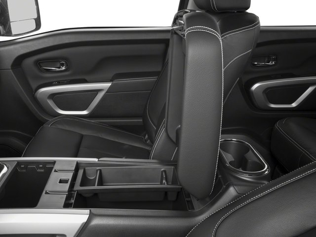 2017 Nissan Titan Prices and Values Crew Cab PRO-4X 4WD center storage console