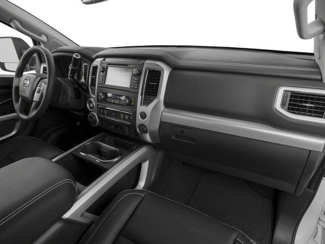2017 Nissan Titan Prices and Values Crew Cab PRO-4X 4WD passenger's dashboard