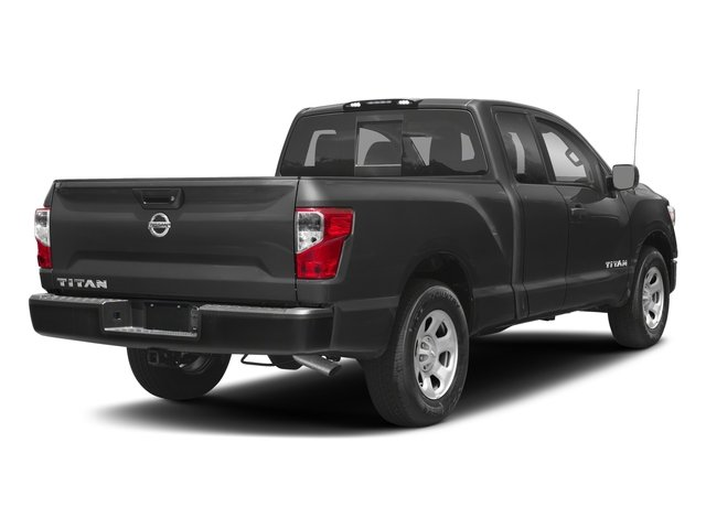 2017 Nissan Titan Prices and Values King Cab S 2WD side rear view