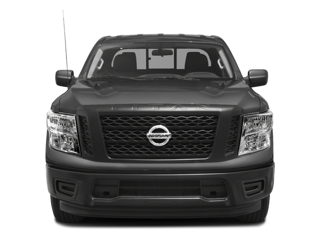 2017 Nissan Titan Prices and Values King Cab S 2WD front view