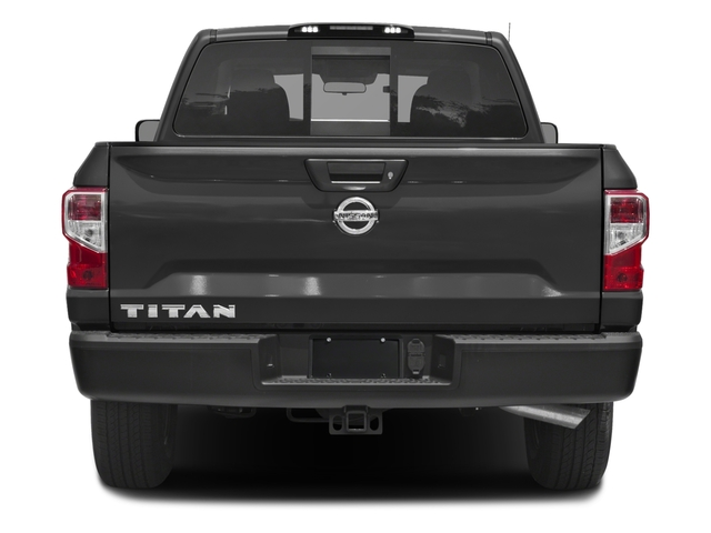 2017 Nissan Titan Prices and Values King Cab S 2WD rear view