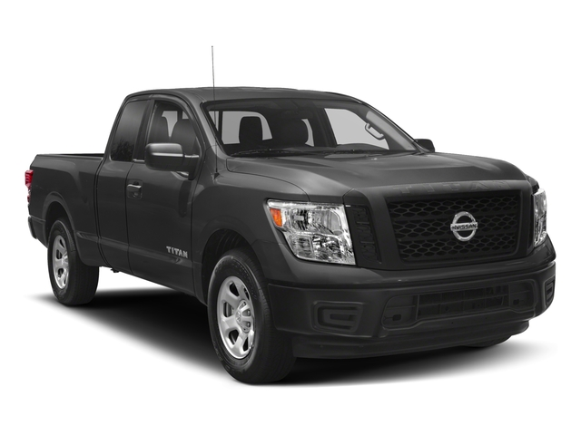 2017 Nissan Titan Prices and Values King Cab S 2WD side front view