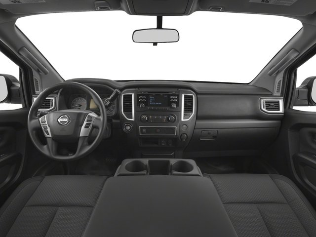 2017 Nissan Titan Prices and Values King Cab S 2WD full dashboard
