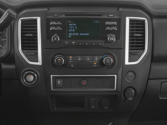 2017 Nissan Titan Prices and Values King Cab S 2WD stereo system