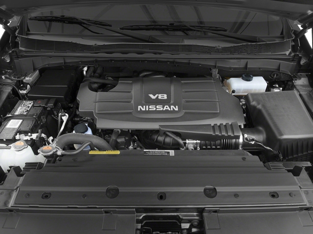 2017 Nissan Titan Prices and Values King Cab S 2WD engine