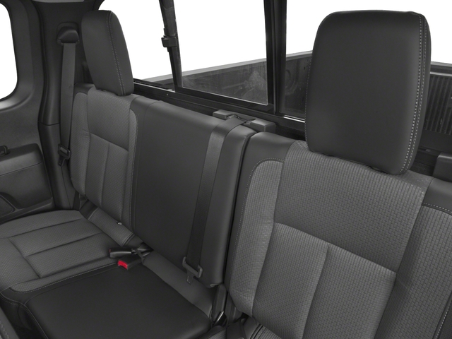 2017 Nissan Titan Prices and Values King Cab S 2WD backseat interior