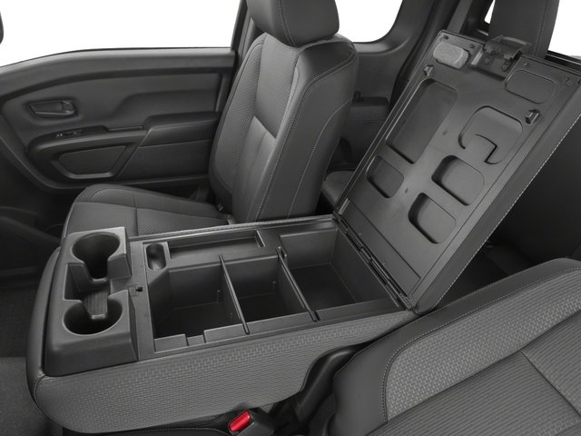 2017 Nissan Titan Prices and Values King Cab S 2WD center storage console