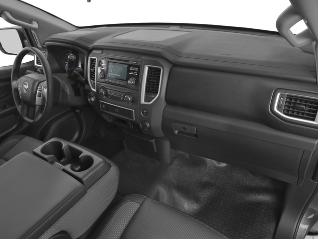 2017 Nissan Titan Prices and Values King Cab S 2WD passenger's dashboard