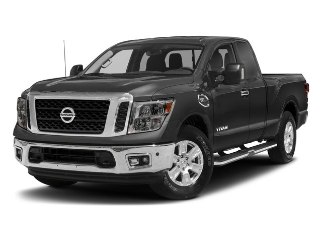 2017 Nissan Titan Pictures Titan King Cab SV 2WD photos side front view