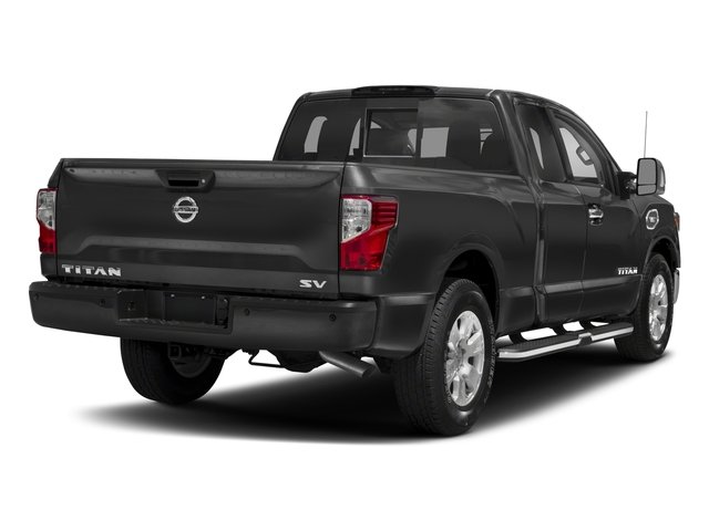2017 Nissan Titan Prices and Values King Cab SV 2WD side rear view