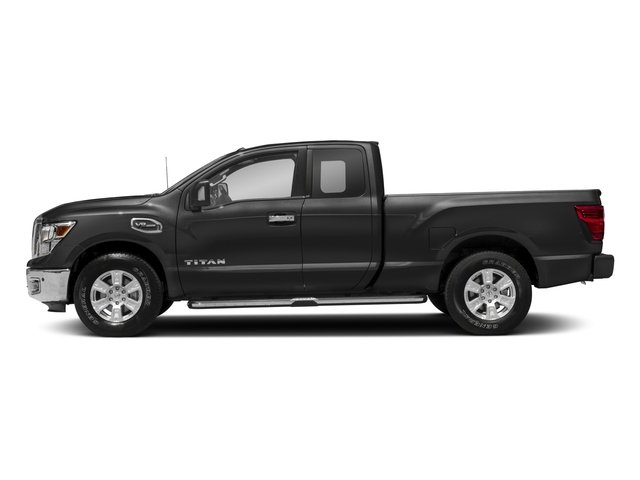 2017 Nissan Titan Prices and Values King Cab SV 2WD side view