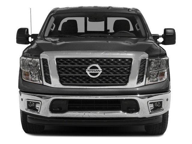 2017 Nissan Titan Prices and Values King Cab SV 2WD front view