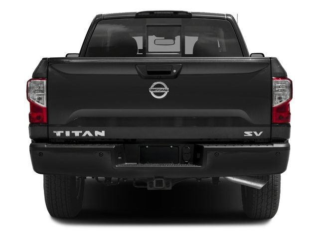 2017 Nissan Titan Prices and Values King Cab SV 2WD rear view