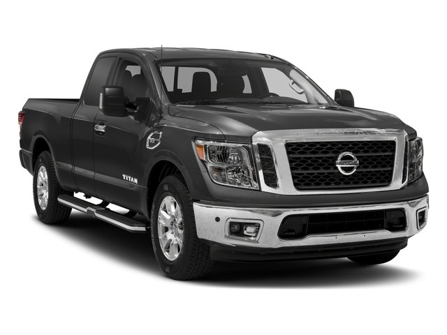 2017 Nissan Titan Prices and Values King Cab SV 2WD side front view