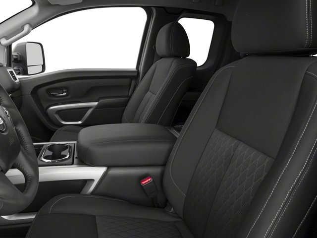 2017 Nissan Titan Prices and Values King Cab SV 2WD front seat interior