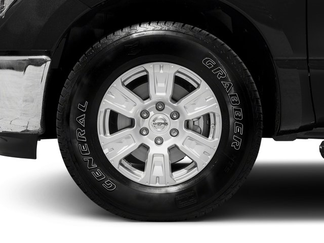 2017 Nissan Titan Prices and Values King Cab SV 2WD wheel