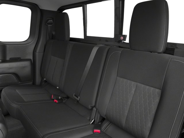 2017 Nissan Titan Prices and Values King Cab SV 2WD backseat interior