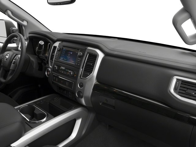 2017 Nissan Titan Prices and Values King Cab SV 2WD passenger's dashboard