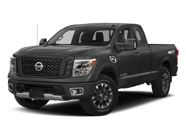2017 Nissan Titan Prices and Values King Cab PRO-4X 4WD