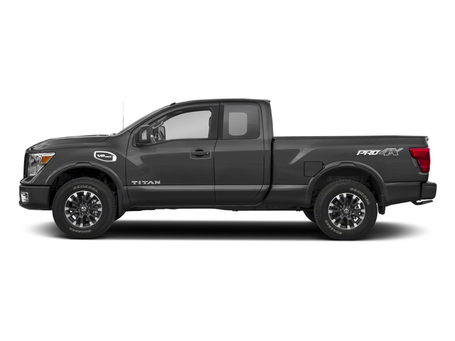 2017 Nissan Titan Prices and Values King Cab PRO-4X 4WD side view