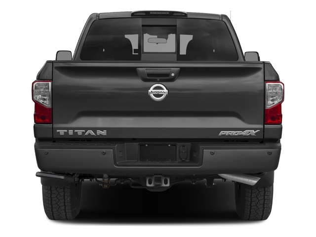 2017 Nissan Titan Prices and Values King Cab PRO-4X 4WD rear view
