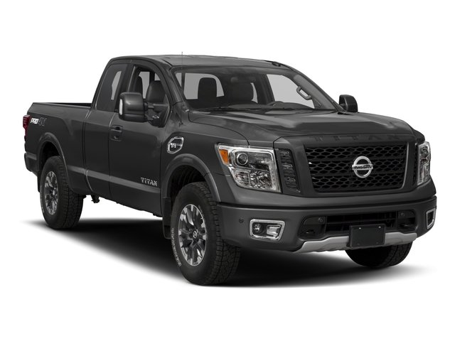 2017 Nissan Titan Prices and Values King Cab PRO-4X 4WD side front view