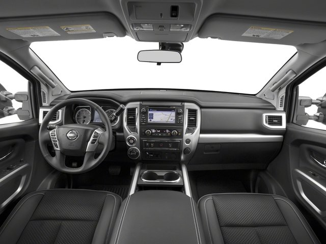 2017 Nissan Titan Prices and Values King Cab PRO-4X 4WD full dashboard