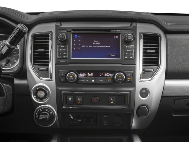 2017 Nissan Titan Prices and Values King Cab PRO-4X 4WD stereo system