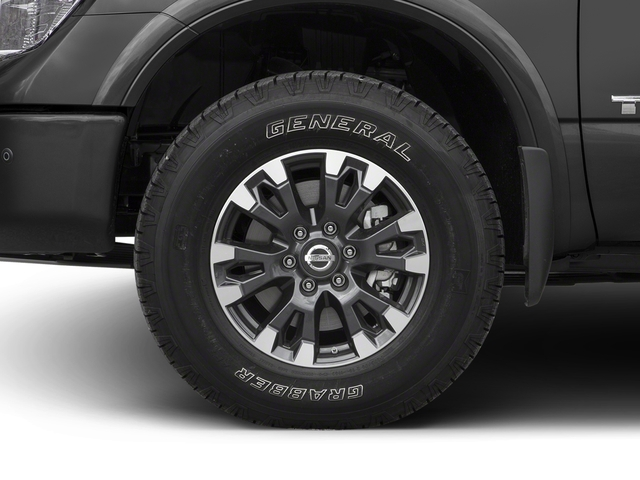 2017 Nissan Titan Prices and Values King Cab PRO-4X 4WD wheel