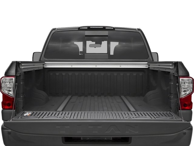 2017 Nissan Titan Prices and Values King Cab PRO-4X 4WD open trunk