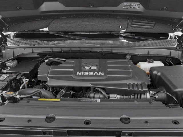2017 Nissan Titan Prices and Values King Cab PRO-4X 4WD engine