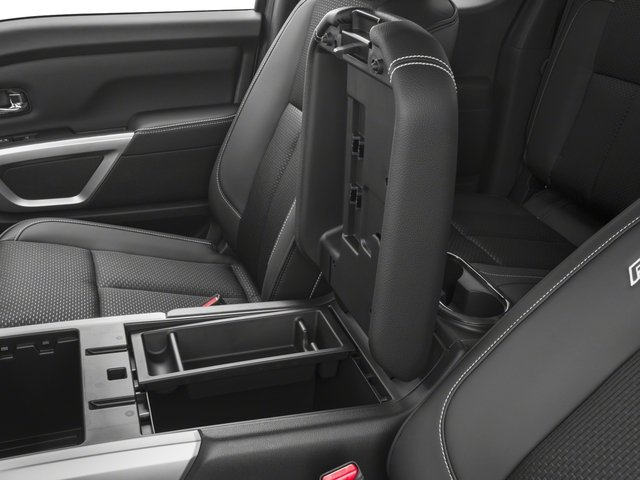 2017 Nissan Titan Prices and Values King Cab PRO-4X 4WD center storage console