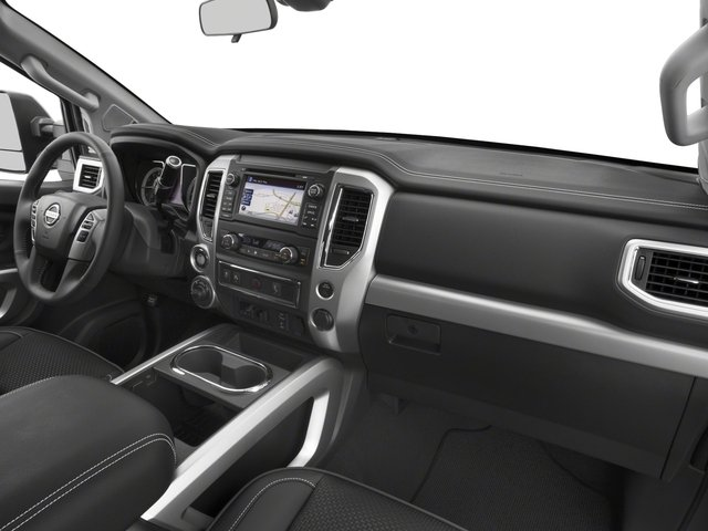 2017 Nissan Titan Prices and Values King Cab PRO-4X 4WD passenger's dashboard