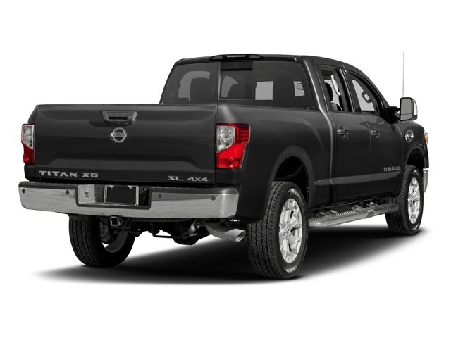 2017 Nissan Titan XD Prices and Values Crew Cab SL 2WD side rear view