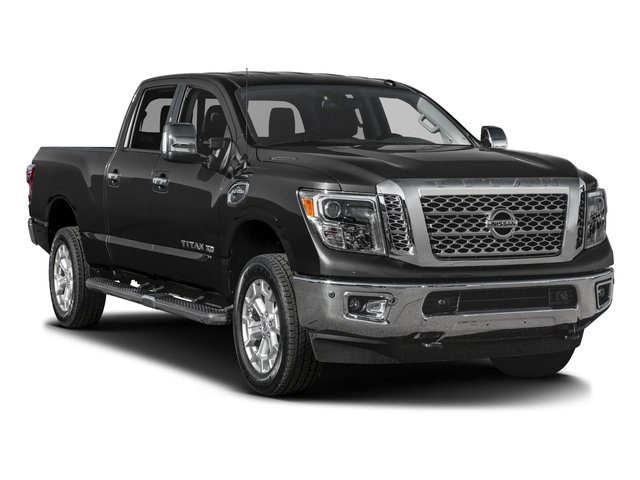 2017 Nissan Titan XD Prices and Values Crew Cab SL 2WD side front view