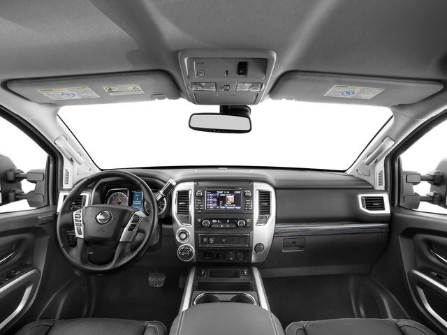 2017 Nissan Titan XD Prices and Values Crew Cab SL 2WD full dashboard