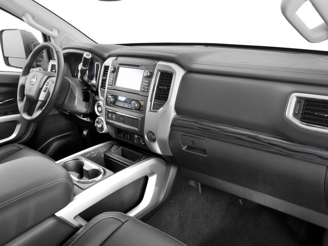 2017 Nissan Titan XD Prices and Values Crew Cab SL 2WD passenger's dashboard