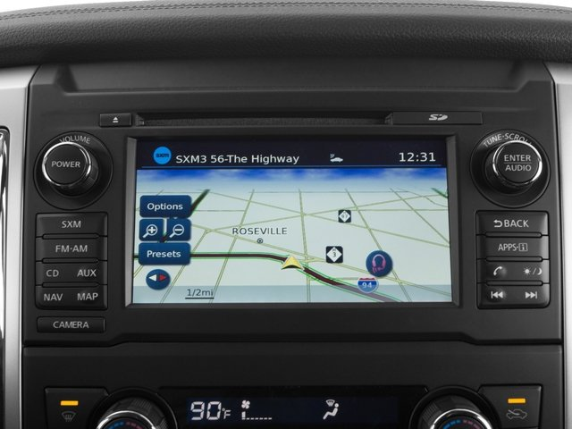 2017 Nissan Titan XD Prices and Values Crew Cab SL 2WD navigation system
