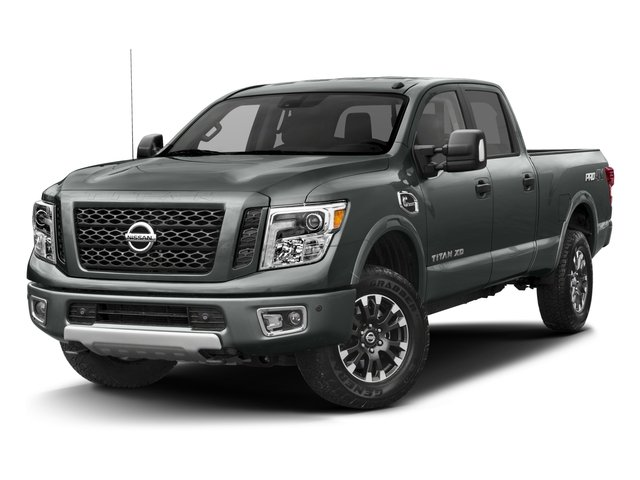 2017 Nissan Titan XD Prices and Values Crew Cab PRO-4X 4WD