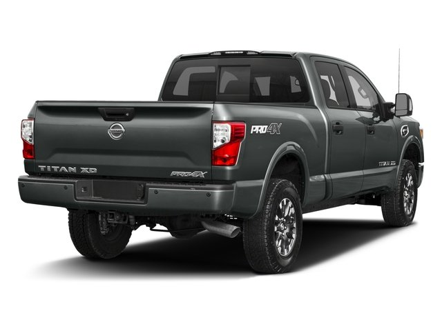 2017 Nissan Titan XD Prices and Values Crew Cab PRO-4X 4WD side rear view