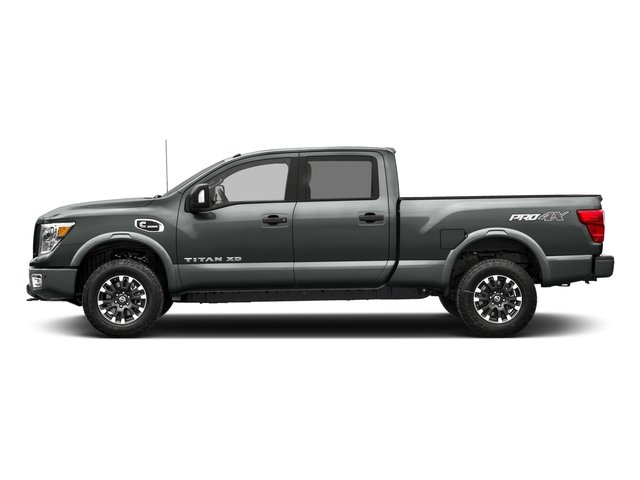 2017 Nissan Titan XD Prices and Values Crew Cab PRO-4X 4WD side view