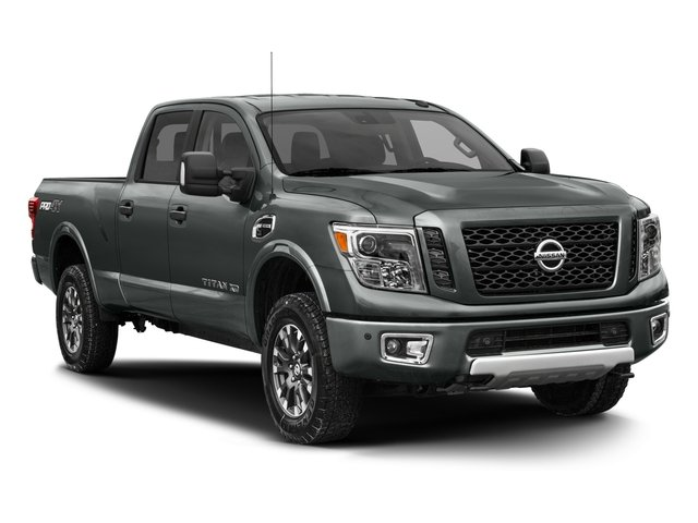 2017 Nissan Titan XD Prices and Values Crew Cab PRO-4X 4WD side front view
