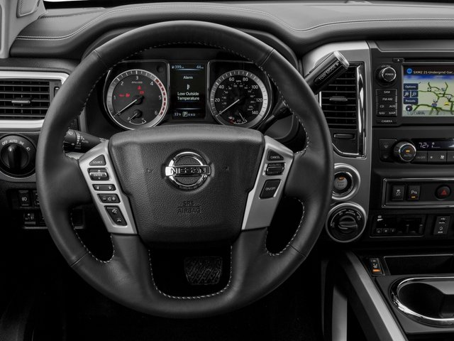 2017 Nissan Titan XD Prices and Values Crew Cab PRO-4X 4WD driver's dashboard