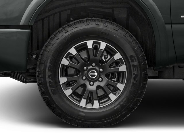2017 Nissan Titan XD Prices and Values Crew Cab PRO-4X 4WD wheel