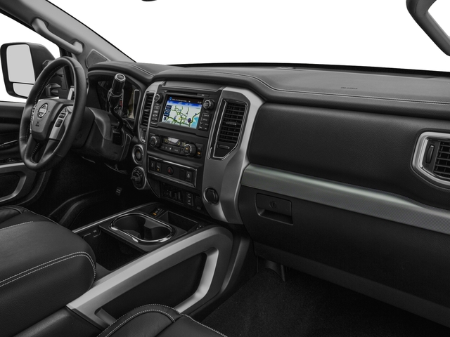 2017 Nissan Titan XD Prices and Values Crew Cab PRO-4X 4WD passenger's dashboard
