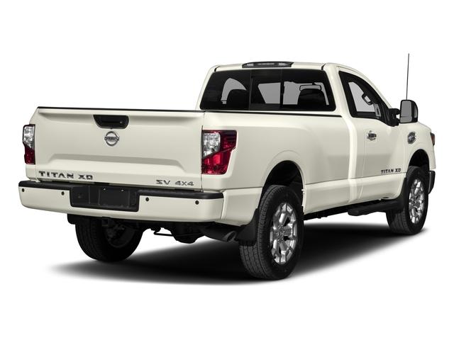 2017 Nissan Titan XD Prices and Values Regular Cab S 2WD side rear view