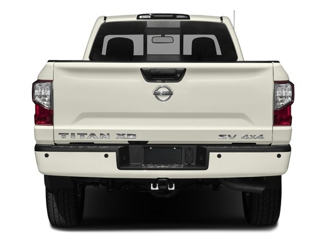 2017 Nissan Titan XD Prices and Values Regular Cab S 2WD rear view