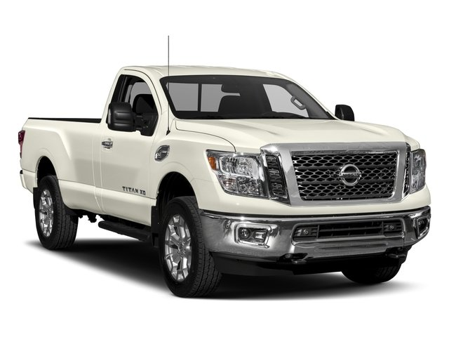 2017 Nissan Titan XD Prices and Values Regular Cab S 2WD side front view