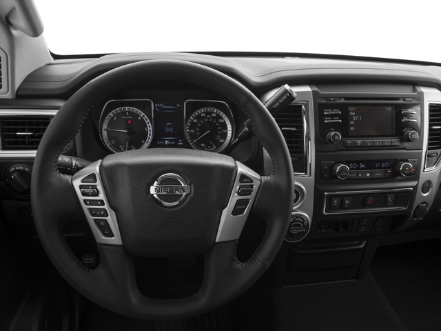 2017 Nissan Titan XD Prices and Values Regular Cab S 2WD driver's dashboard
